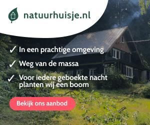 natuurhuisje grote groep nederland banner