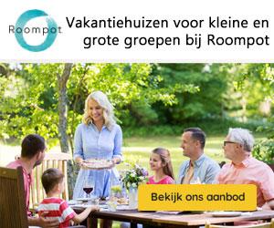 roompot grote vakantiehuizen banner